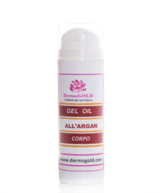 Gel oil corpo Argan